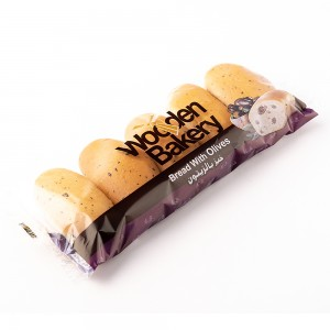 Milk Bread With Olives